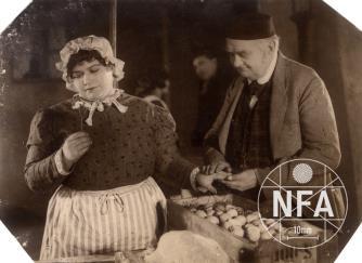 Paní Katynka z vaječného trhu
