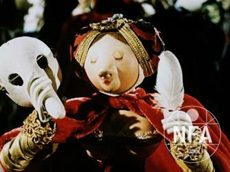 Archanděl Gabriel a paní Husa
