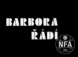Barbora řádí